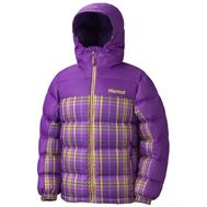 Куртка Girls Guides down hoody plaid