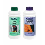 Комплект Nikwax Twin Pack (Tech Wash 1L + TX Direct 1L)