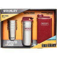Набор Stanley  Фляга 236 мл + 4 стопки + стальной кейс
