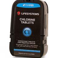 Обеззараживающие таблетки  для дезинфекции воды Lifesystems Chlorine