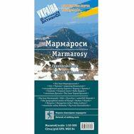 Карта туристическая УКРПОЛ Мармароси