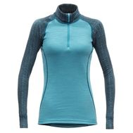 Термофутболка Devold Duo Active Woman Zip Neck LS