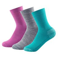 Носки Devold DAILY Kid's Medium Sock 3 PK GIRL MIX