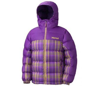 Куртка Girls Guides down hoody plaid