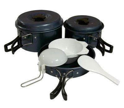 Набор посуды анодированной с антипригарным покрытием