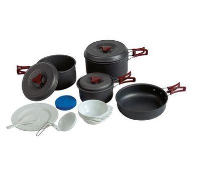 Набор посуды из анодированого алюминия TRC-026