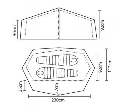 Палатка Zephyros 2 Lite