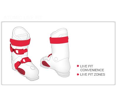 Ботинки горнолыжные Live Fit 70