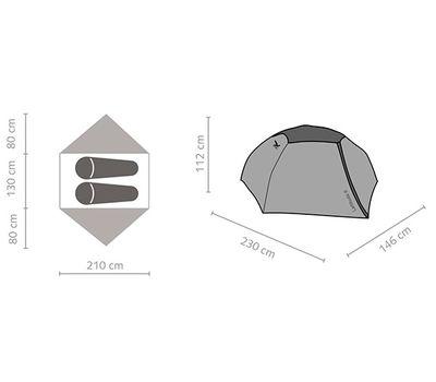 Палатка Latitude II