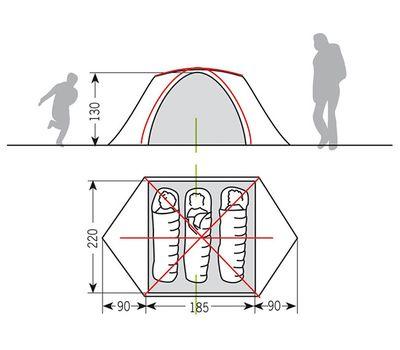 Палатка Campo Grande 3-4P