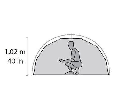 Палатка туристическая MSR Elixir 2