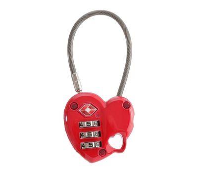 Munkees 3606 брелок-замок TSA Combi Lock Heart