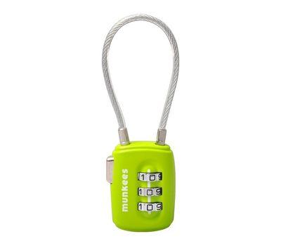 Кодовый замок Munkees 3608 Cable Combi Lock