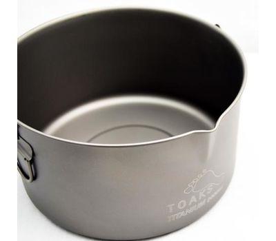 Котелок туристический TOAKS Titanium Pot 2000 мл