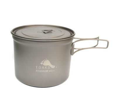 Котелок TOAKS Titanium 900ml D115mm Pot POT-900-D115