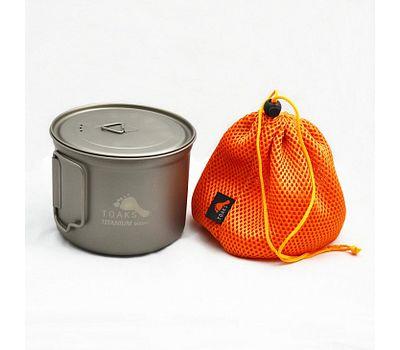 Котелок TOAKS Titanium 900ml D115mm Pot POT-900-D115
