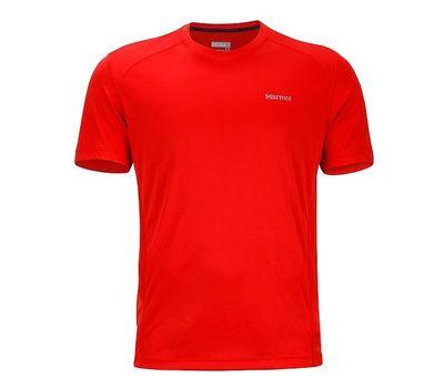 Футболка Marmot Windridge ss scarlet red