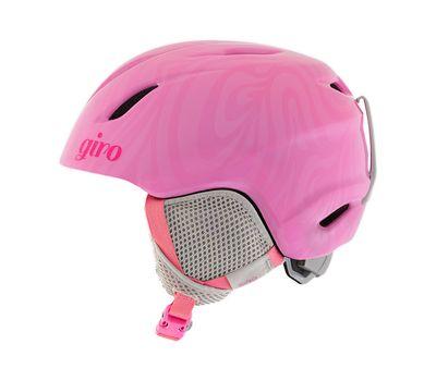 Лыжный шлем детский Giro Launch Pink Swirl