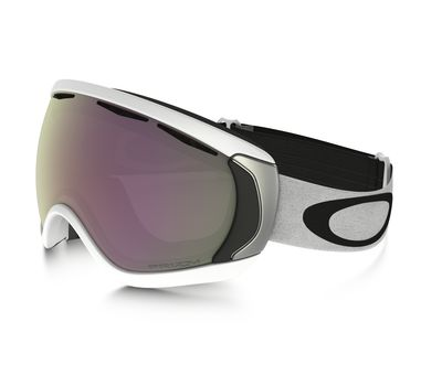 Маска лыжная Oakley Canopy matte white / prizm hi pink iridium