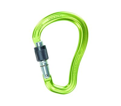 Карабин Climbing Technology 2C38500 ZZB AXIS HMS SG (green anodized - grey)