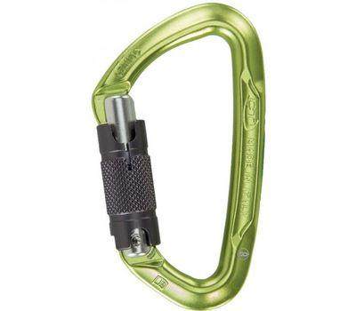 Карабин Climbing Technology 2C45000 ZZB Lime WG twistlock (green / grey)
