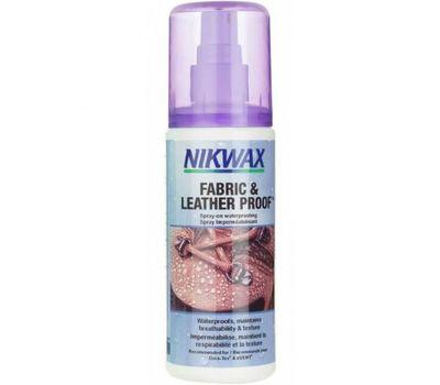 Пропитка для обуви Nikwax Fabric & Leather spray 300ml