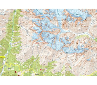 Карта Грузии 10 (Mt.Ushba, Mestia)