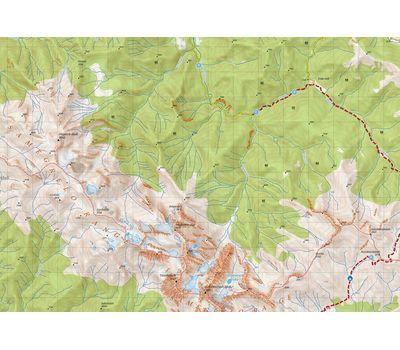 Карта Грузии 11 (Mukhuri, Tobavarchkhili Lake, Hkaishi)