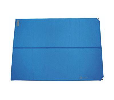 Самонадувающийся коврик Highlander Base Double Self Inflate Blue