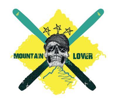 Кепка OGSO Skull Mountain Lover