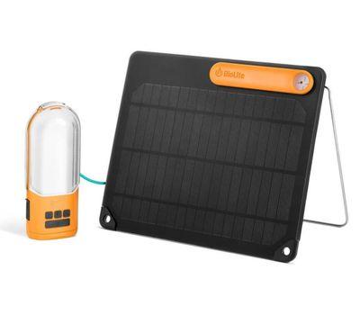 Biolite - PowerLight Solar Kit Black/Orange