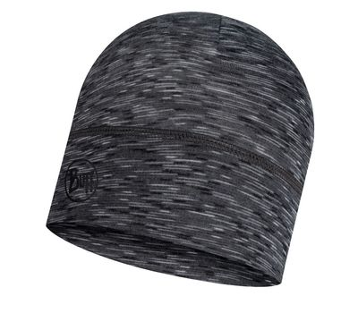 Шапка BUFF LIGHTWEIGHT MERINO WOOL HAT graphite multi stripes