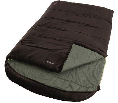 Спальный мешок Outwell Campion Lux Double/-1°C Brown (Left)