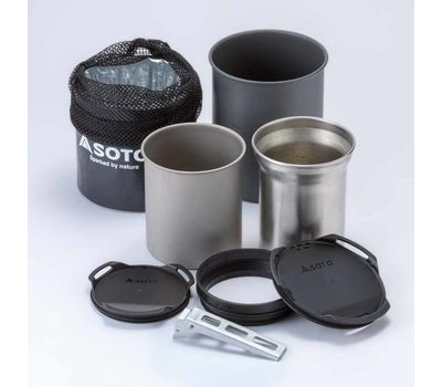 Набор посуды SOTO Thermostack Cook Set Combo
