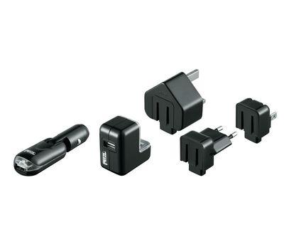 Зарядное устройство CORE USB/US/GB/12V